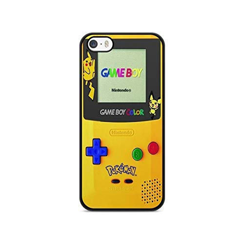 Coque pour Iphone 5 / 5s / Se Pokemon go Team Pokedex Pikachu Manga Tortank Game Boy Color Salameche Noctali Valor Mystic Instinct Case 5