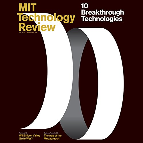 MIT Technology Review, March 2016 audiobook cover art