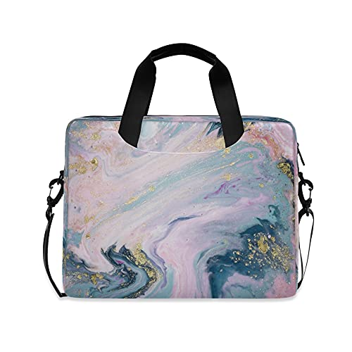 Rainbow Mármol Niñas 14 pulgadas portátil bolsa niños 10 Tablets caso manga bolsos para la escuela secundaria mujeres 15.6 ordenador bolsa maletín