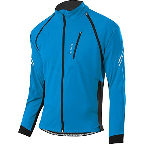 LÖFFLER Men's San Remo 2 Ws Light Jacket, blue, 50