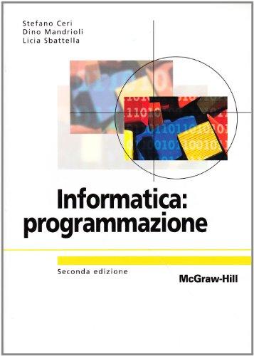 Informatica: programmazione