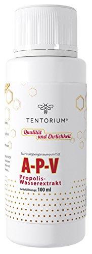 Gocce di propoli d'api e argento collodiale TENTORIUM A-P-V 100ml di estratto ecologico di propoli e acqua d'argento senza alcool 100% TOP QUALITY
