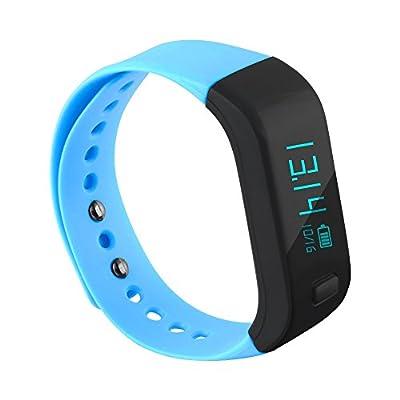 Santopian Smart Band Waterproof, Sports bracelet Track Your Daily Activity,