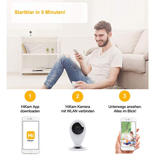 HiKam S6 mini drahtlose IP Überwachungs-Kamera - 3