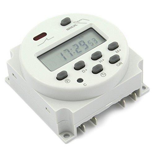 Vktech LCD Digital Programmierbar Timer Microcomputer Zeitschaltuhr DC 12V