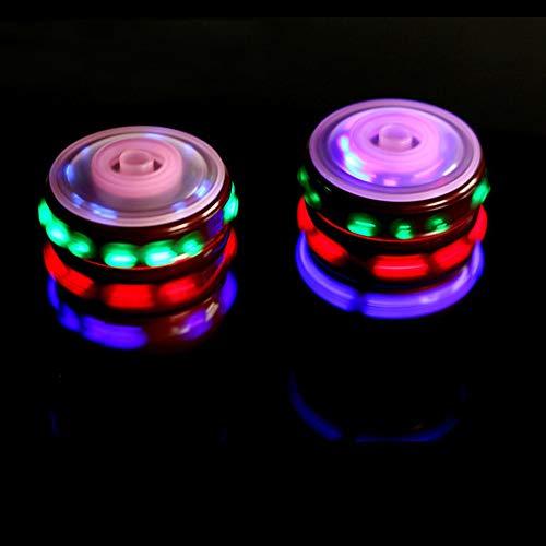 Flash Licht Music Spinning Tops Gyroskop Glühende Musik Kreisel mit Buntem Flash-Geschenk für Baby Boys Kinder