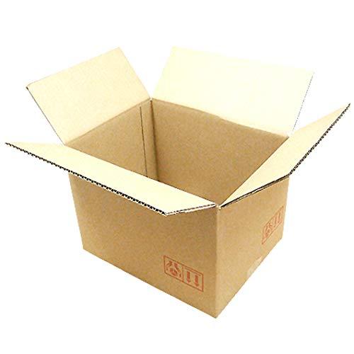 ダンボール みかん箱 N-5 325×255×235 宅配 100サイズ 20枚セット (ダンボール箱 段ボール箱 引越し・梱包用 引越し用ダンボール)