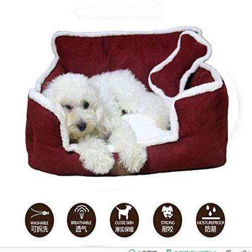 ZHAS New Nest Removable Washable Home Sweet Dog Cat Litter Puppy Bed Comfortable Big Pet Sofa Mat Cushion