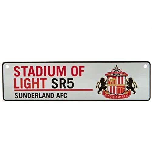 Sunderland A.F.C Football Club Small Street Window Sign Stadium Of Light Fan