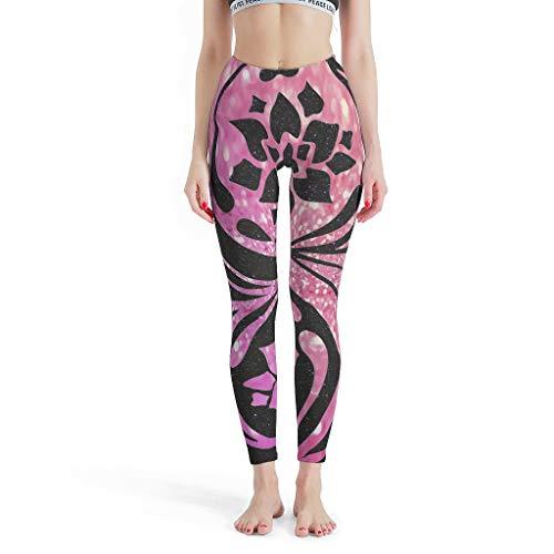 Charzee dames patroon yoga broek Quick-Dry-functie Tights Capri Sport Outdoor Sportbroek Skinny Leg