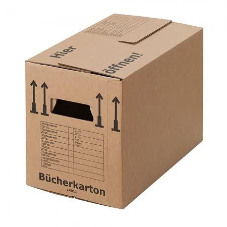 BB-Verpackungen 80 scatole di cartone professionali 500 x 300 x 350 mm (stabili a 2 onde, doppio fondo, scatole in cartone riciclato) – Set da 5 e 250 pezzi