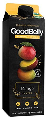 GoodBelly Mango Probiotic Juice, 32 oz
