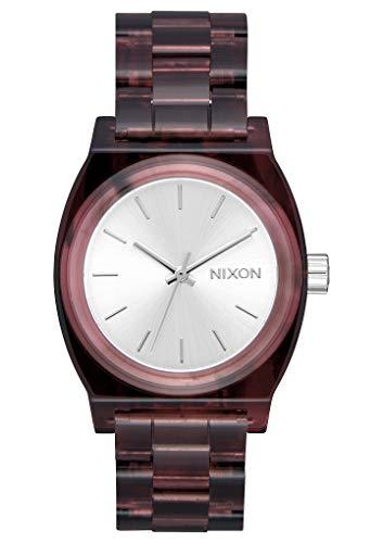 Nixon Reloj Analógico para Mujer de Cuarzo con Correa en Ninguno A1214-200-00