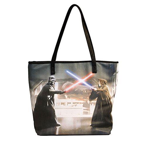 Star Wars Darth Vader & Obi Wan Tasche Damen Shopper von Loungefly schwarz