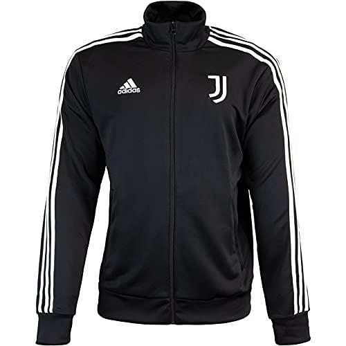 adidas Juventus Turin 3 Stripes Trackjacket Jacke (M, black/white)