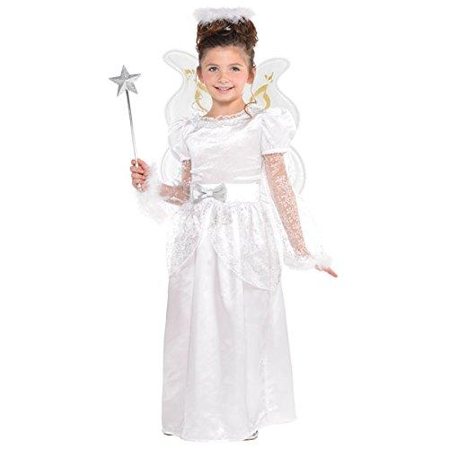 Weihnachten Engel Kinder Kostüm 6-8 Jahre alt - Christys