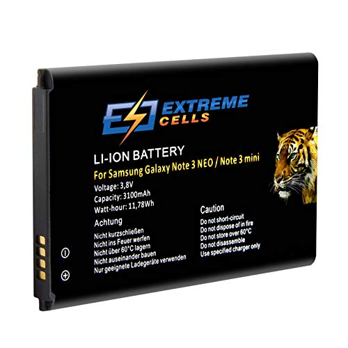Extremecells® Mini batteria di ricambio per Samsung Galaxy Note 3Neo SM-N7505