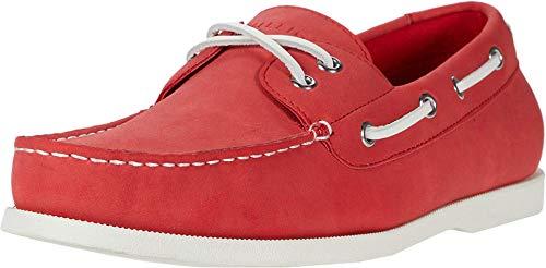 Tommy Hilfiger Herren Brazen5 Bootsschuh, Rot (rot), 42 EU