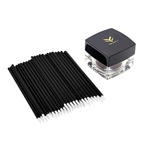 Toygogo 11 Couleurs Professionnel Eyeliner Gel & 50 Pcs Jetable Brosse Maquillage Outil Cosmétique - #2
