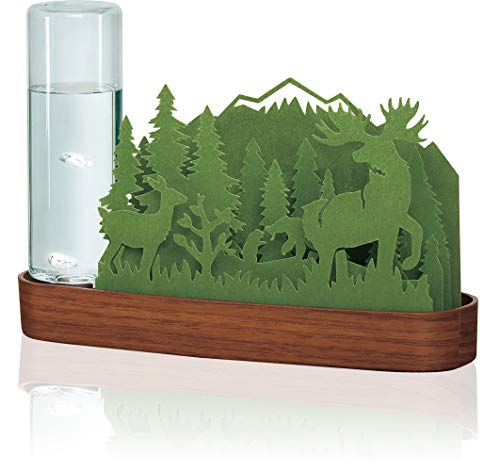 自然気化式加湿器北欧の森Forest(Green)