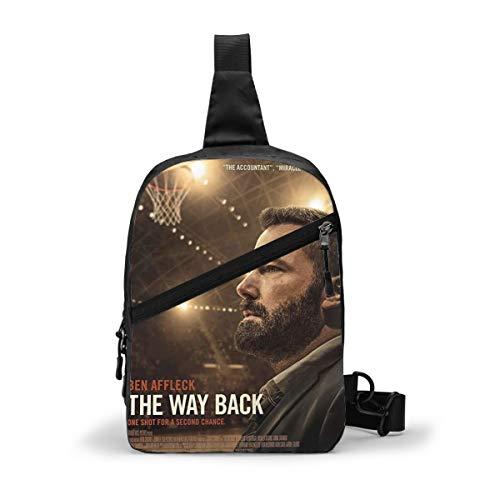 Ben Affleck In The Way Back Cool Crossbody Mini Visor Chest Bags Backpack Package For Women & Men