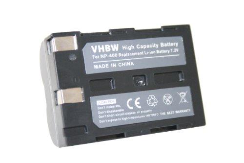vhbw Batería Compatible con Pentax K10D, K20D cámara Digital, DSLR (1200mAh, 7,2V, Li-Ion)