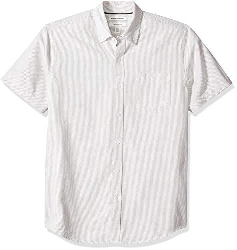 Amazon Essentials – Camisa Oxford de manga corta de corte