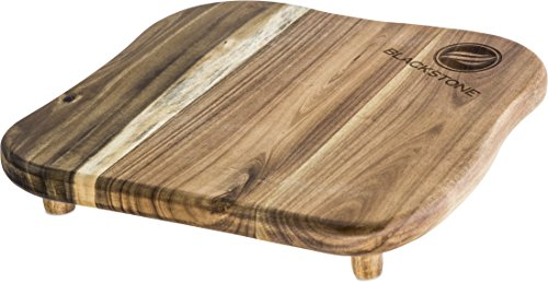 Blackstone 1755 Accessories-Premium Quality Grill Cutting Board with Legs Made from Acacia Wood-Designed for Top of Griddle or Countertop, One Size