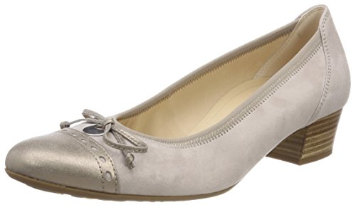 Gabor Shoes Damen Comfort Fashion Pumps, Mehrfarbig (Light Nude/Mutaro), 38 EU