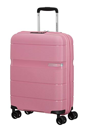 American Tourister Linex Luggage- Carry-On Luggage, S (55 cm - 34 L), Rosa (Watermelon Pink)