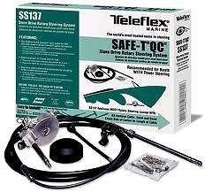 Nieuwe Teleflex Safe-T Quick Connect Boot Stuursysteem 17 Ft. Ss13717