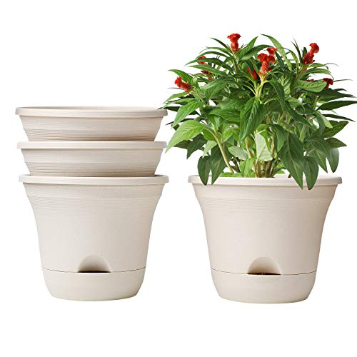 T4U Self-Watering Planter Pot Set