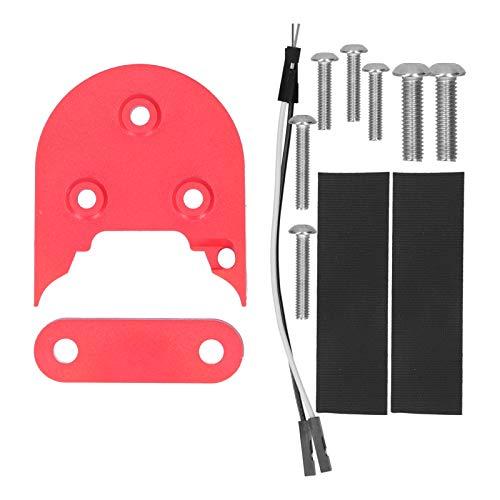 01 Junta de Guardabarros de Scooter eléctrico, Conveniente Espaciador de Guardabarros de Scooter eléctrico Estable para Todas Las Series de para Scooters eléctricos M365 / 1S / Pro / PRO2(Red)