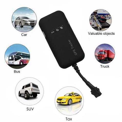 HaiMa Mini Gps Tracker Vehículo Vehículo Dispositivo De Transporte Coche Bus Gsm Sistema De Rastreo De Localizador En Tiempo Real - China Negra