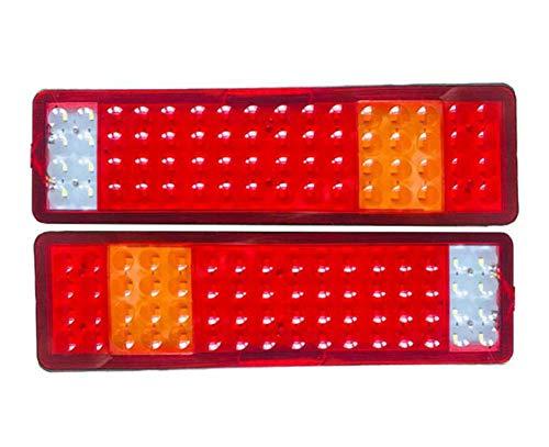 ANAN vrachtwagen-achterlicht, led-achterlicht voor auto's, turn-/rem-/achteruit-achterlicht voor vrachtwagens, aanhangers, pickup 24 V
