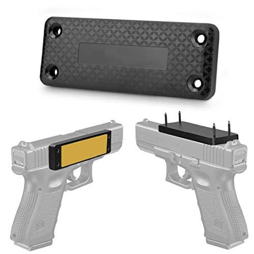 xiaocheng Magnetische Holster Sicherheitsbügel Verdeckte Halter Magnet Lager Black für Auto Celling für Outdoor Sports