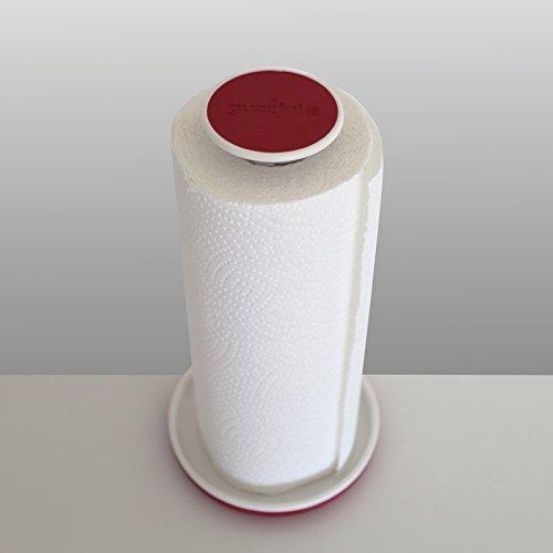 Guzzini Formes Home 14557 Rouge 31/Support pour Rouleau de Papier en Plastique