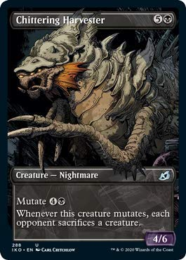 Magic: The Gathering - Chittering Harvester - Showcase - Ikoria: Lair of Behemoths