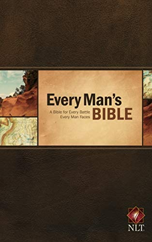 Every Man s Bible New Living Translation Hardcover Every Man s Series Study Bible for Men with product image