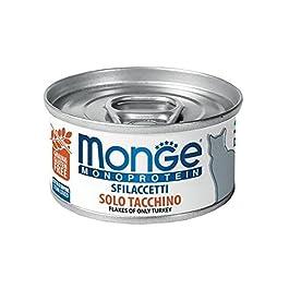 Monge Cat Sfilaccetti Monoprotein Pollo e piselli Lattina 80 gr