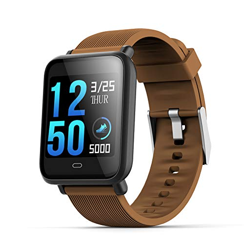Lowest Prices! XIAOAN Smart Wristband Motion Tracking Reminder Sleep Heart Rate Blood Pressure Blood...