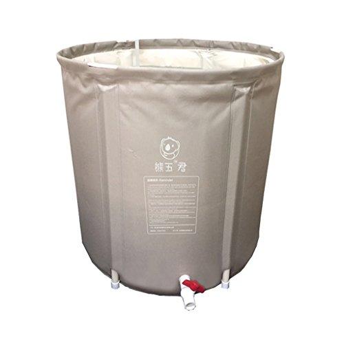Baignoire gonflable pliable de bâche de bâche de lavage gonflable d'enfants adultes de bassin de lavage de maison/sale/durable/facile à nettoyer (65 * 65cm, 70 * 65cm)