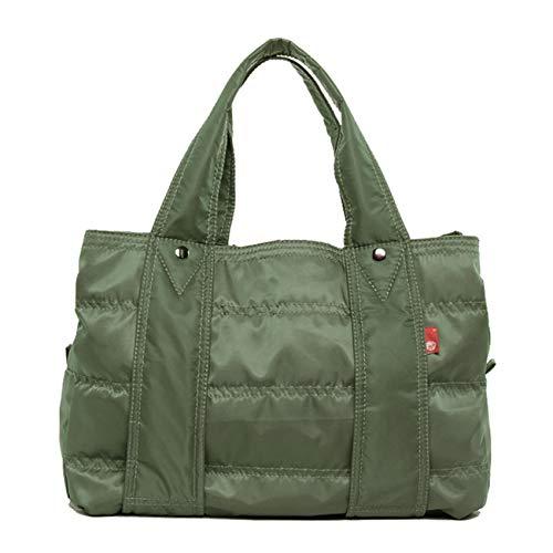 (ララゲン)lalagen トートバッグ レディース 軽量 軽い 旅行バッグ A4 大容量 バッグ Lサイズ 巾着付き ナイロン ナイロンバッグ トート ママバッグ