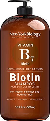 Biotin Shampoo for Hair Growth and Thinning Hair – Thickening Formula for Hair Loss Treatment – For Men & Women – Anti Dandruff - 16.9 fl Oz