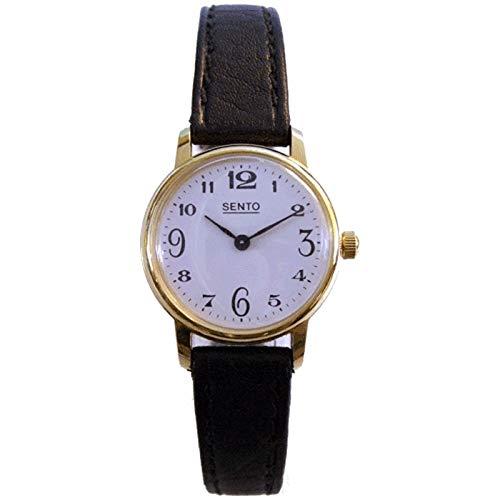 Reloj Mecanico Sento para Señora Maquinaria de Ancora Fina Mecanico