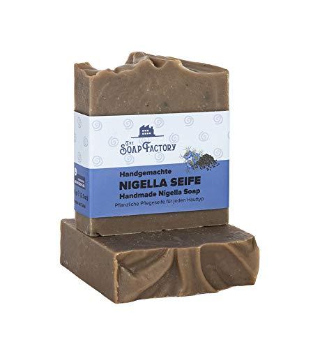 TOP ANGEBOT The Soap Factory 100% natürliche handgemachte Schwarzkümmel Seife 100g Soap