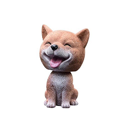 Liery Auto Das Kopf-Hund Rüttelt Ornamente Auto-Schwingen-Hundekarikatur-Auto-Puppe