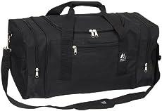 Everest Luggage Sporty Gear Bag - Large, Black, Black, One Size