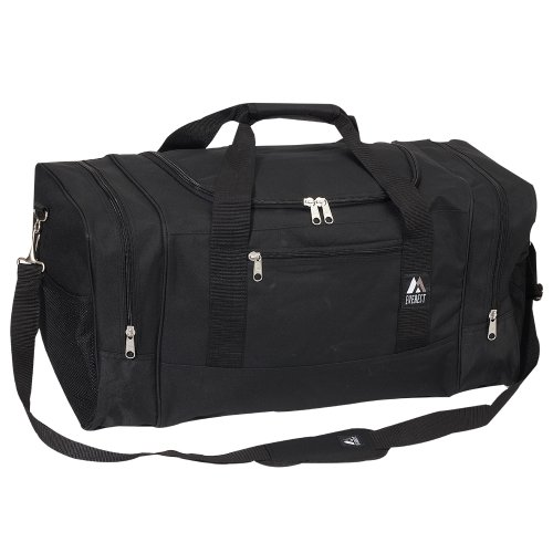 Everest Luggage Sporty Gear Bag - Large, Black, One Size
