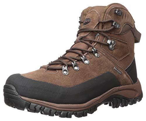 BEARPAW Men's Traverse Hiking Boot Chocolate 9